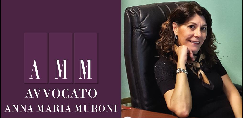 Logo con foto Avvocato AM Muroni